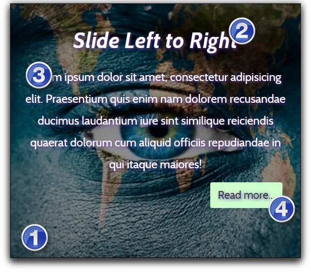 Эффект наложения Weebly при наведении курсора на изображение