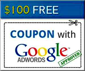 Free google adwords $100 coupon codes mobili on line low cost