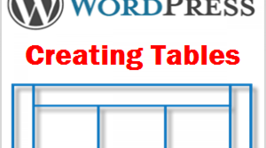 How to Add Table in WordPress?