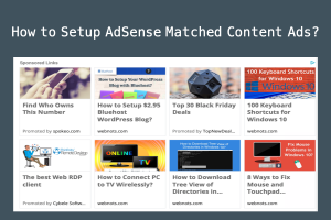 How to Setup AdSense Matched Content Ads