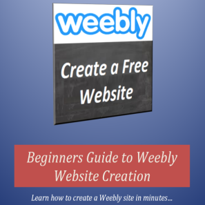 Beginners Guide to Weebly Website Creation
