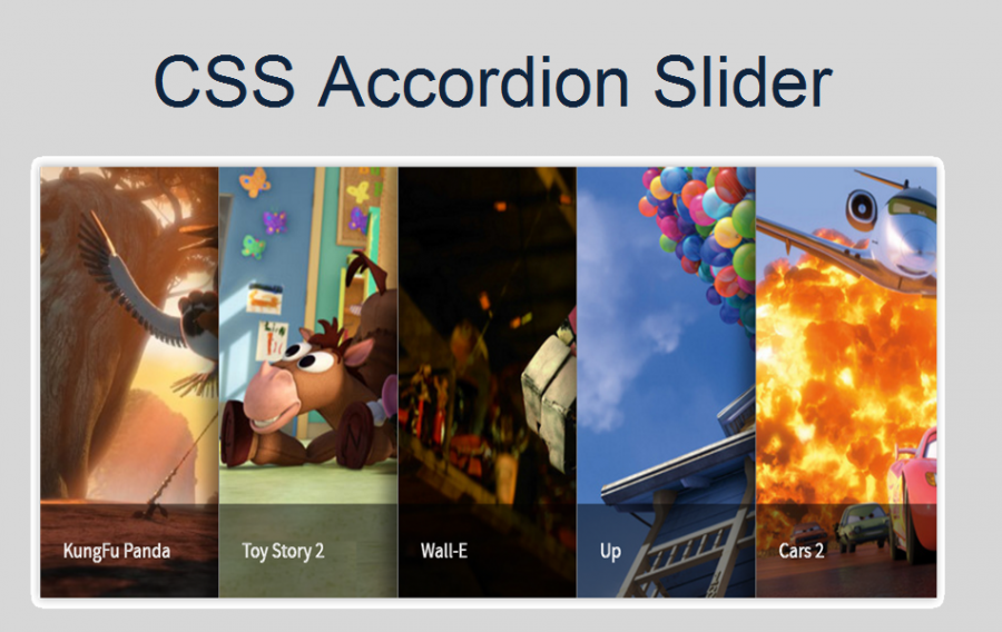 CSS Accordion Slider