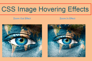 CSS Image Hovering Effects