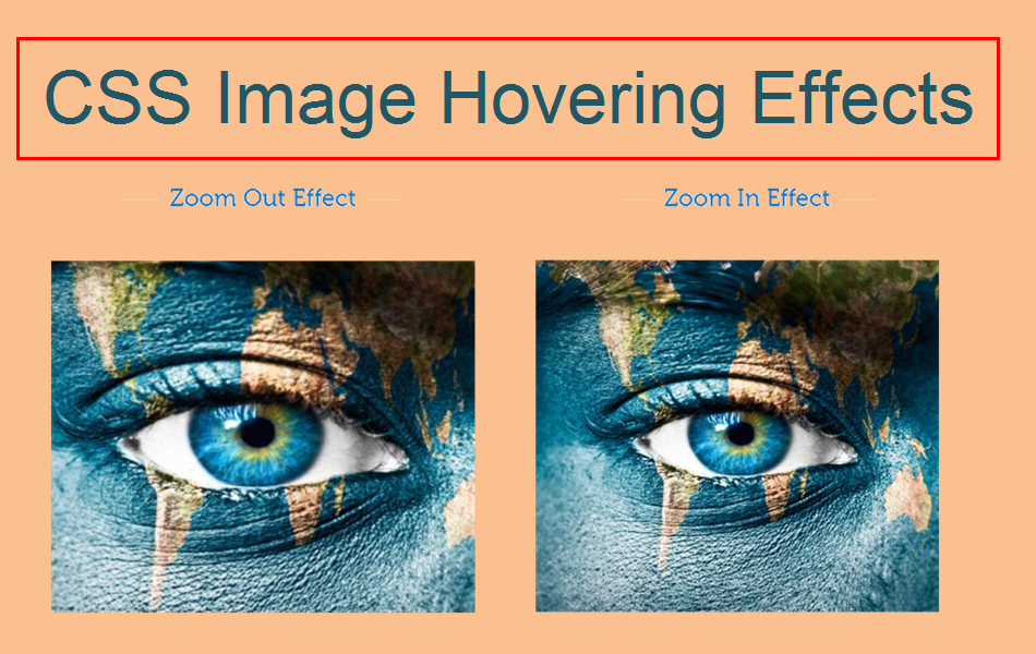 11 CSS Image Hovering Effects for Weebly