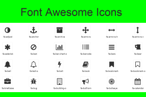 Font Awesome Icons List