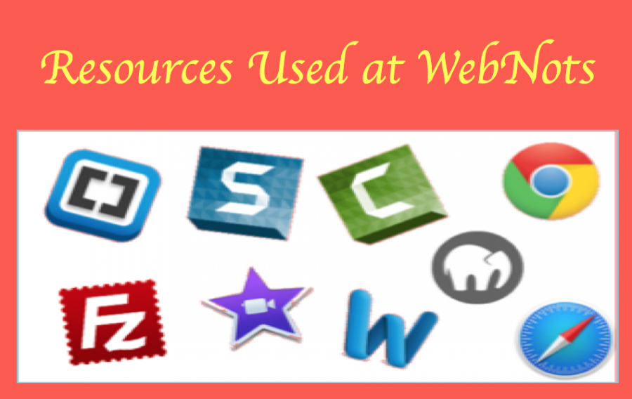 Resources Used at WebNots