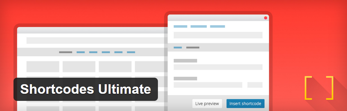 Плагин Shortcodes Ultimate для WordPress