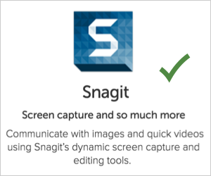 Snagit Image Capturing Tool for Bloggers
