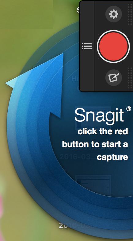 Snagit One-Click Capturea