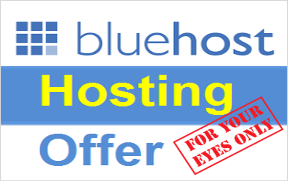 Bluehost Shared Hosting Offer