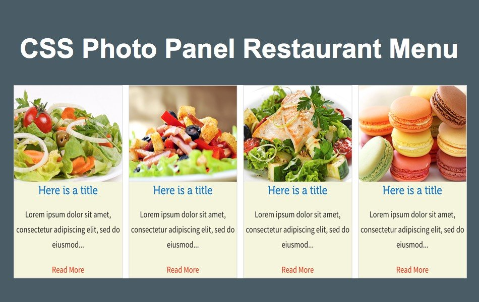 Free Photo Panel Widget for Weebly