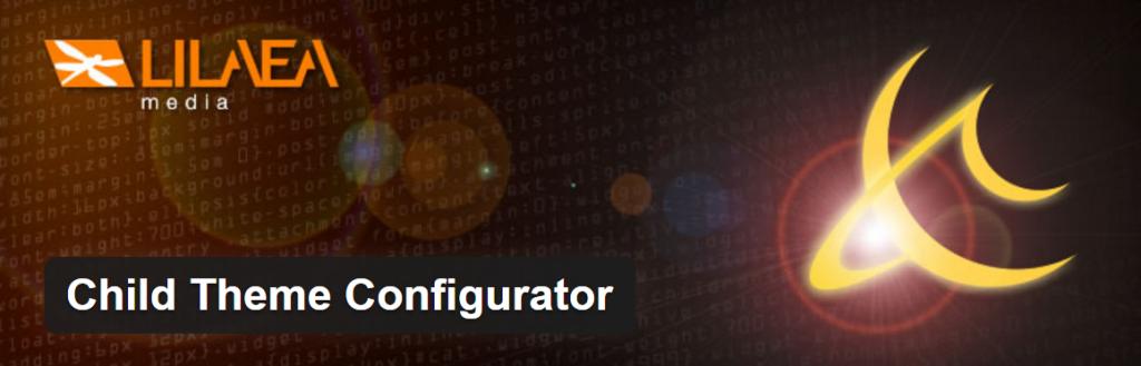 Child Theme Configurator WordPress Plugin