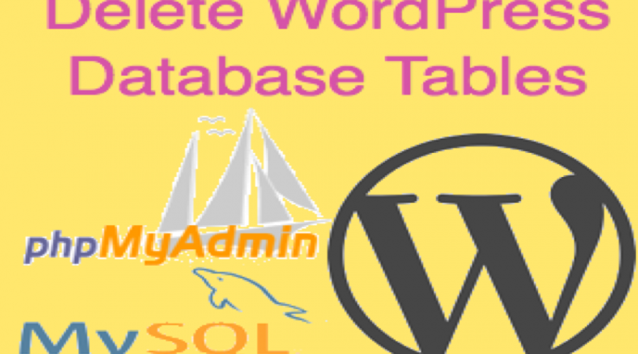 How to Delete MySQL Database and Tables in WordPress?