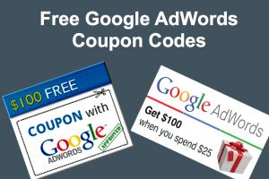 Free Google AdWords Coupon Codes