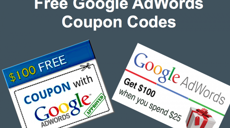 Free Google Ads Promotional Coupon Codes