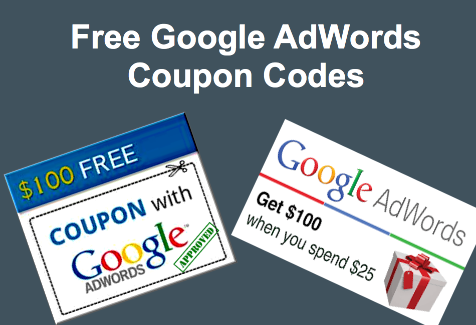 Free google adwords promotional coupon codes webnots fandeluxe Image collections