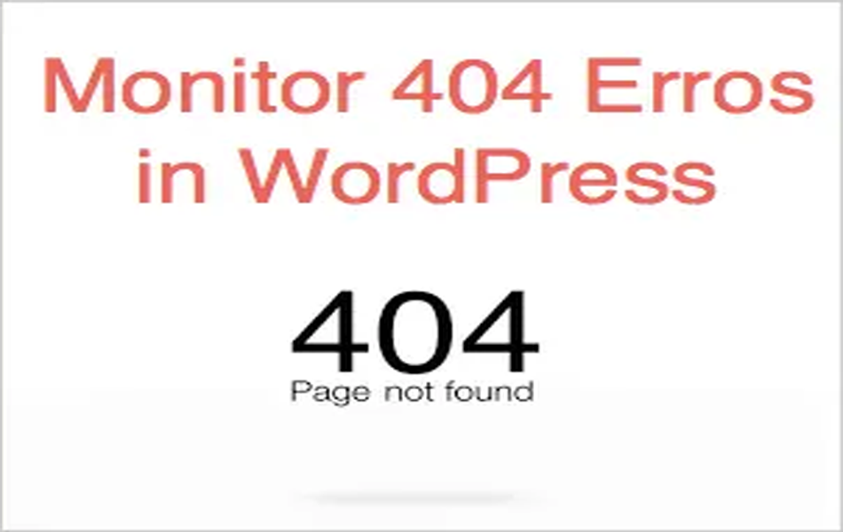 Monitor 404 Errors in WordPress