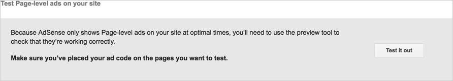 Тестирование рекламы на уровне страницы