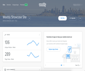 5 Things You Can Do with Weebly Dashboard