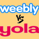 Weebly Vs Yola Comparison and Review
