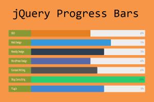 jQuery Progress Bars