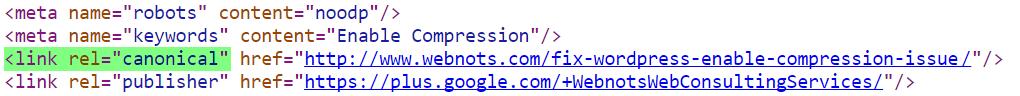 Canonical Meta Tag in Yoast SEO