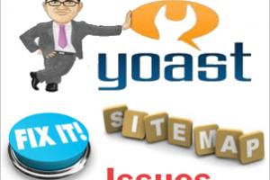 Fixing Sitemap Issues with Yoast WordPress SEO Plugin