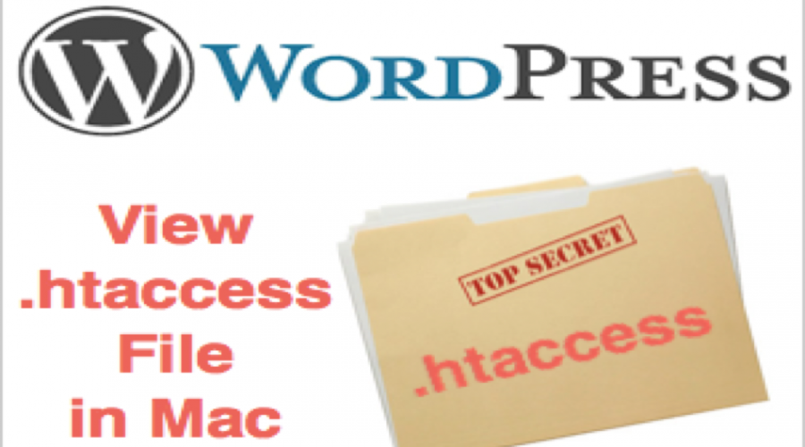 How to View and Edit .htaccess File in macOS?