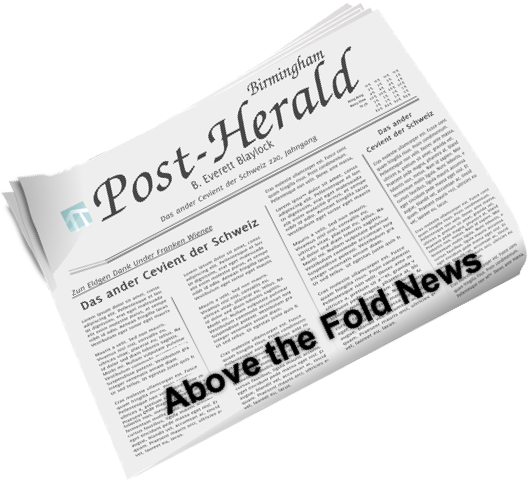 Above the Fold News