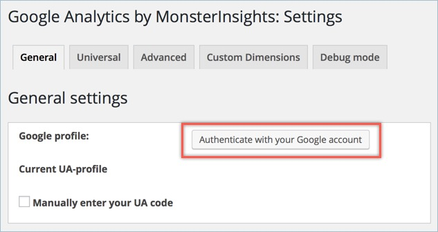 Authenticating With Google Account