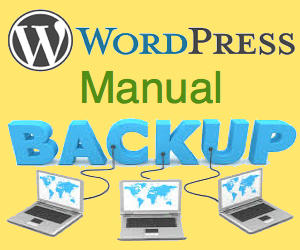 Backup WordPress Site Manually