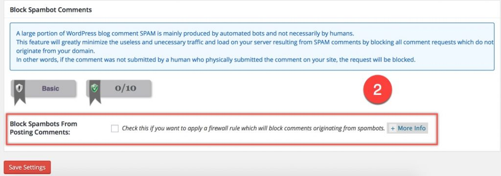 Block Spambot Comments in WordPress