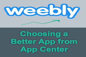 Choose Better App for Weebly