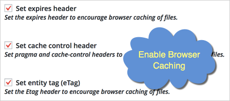 Enable Browser Caching in W3TC Plugin