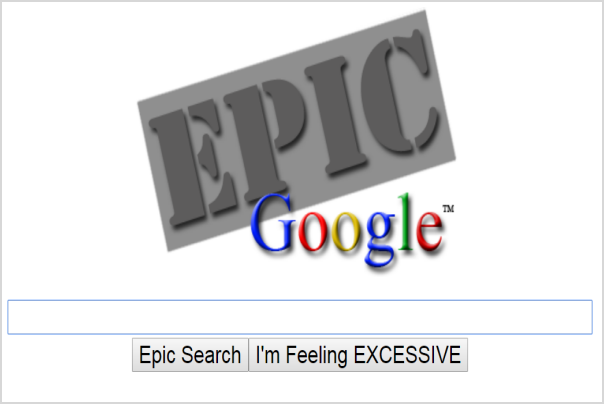 Google Epic Lucky Search