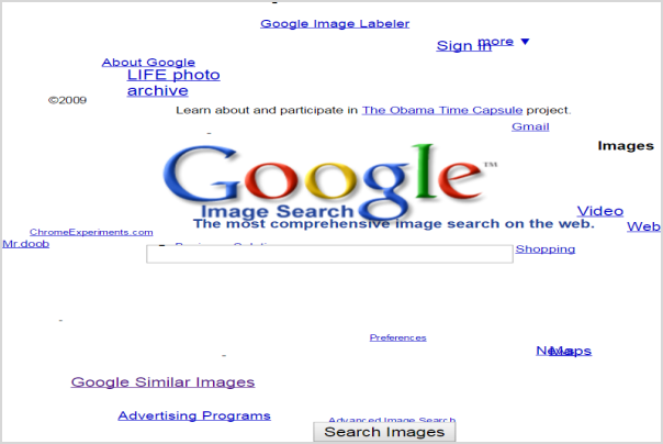 Google Sphere Lucky Search