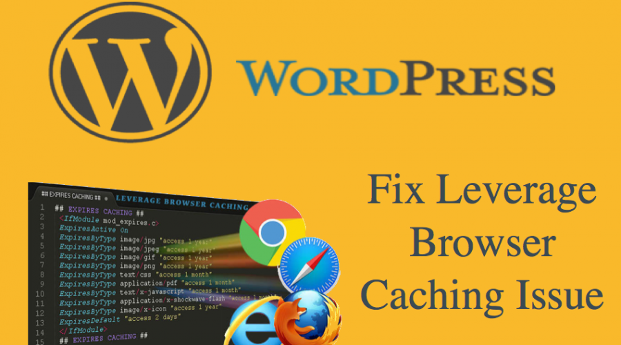 How to Fix Leverage Browser Caching Issue in WordPress?