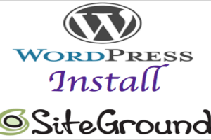 How to Install WordPress on SiteGround?
