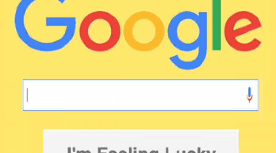 Top I'm Feeling Lucky Google Tricks