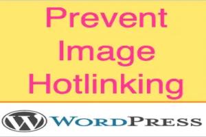 Image Hotlinking in WordPress