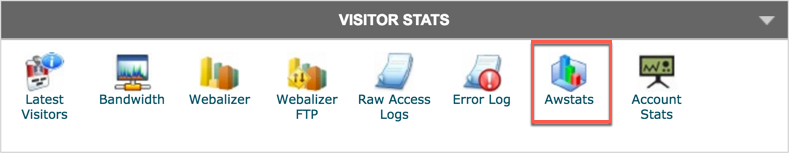 Opening Awstats from cPanel Hosting Account
