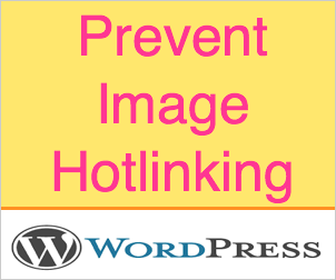 Enable Image Hotlink Protection for WordPress Site