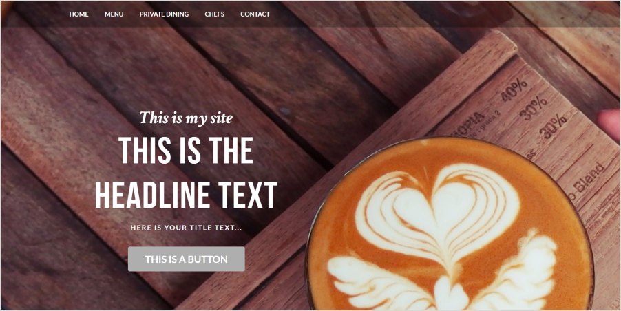 Sausy Business Weebly Theme