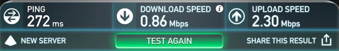 Internet Speed Test with VyprVPN