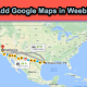 How to Add Google Maps in Weebly?