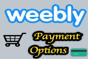 Add Payment in Weebly Store