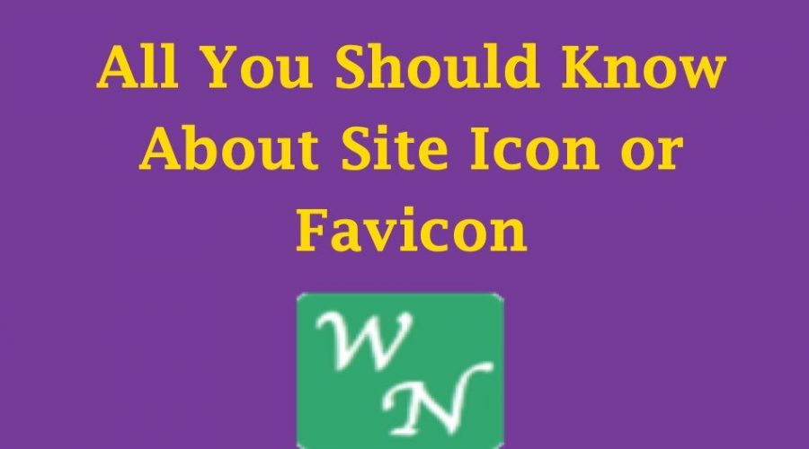 What is Favicon or Site Icon?