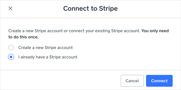 Connect Weebly Store to Stripe