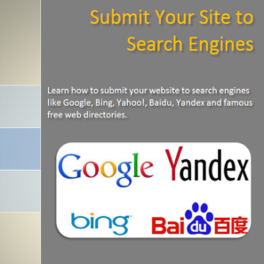 Search Engines Submission Guide