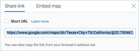 Передача местоположения на Google Maps